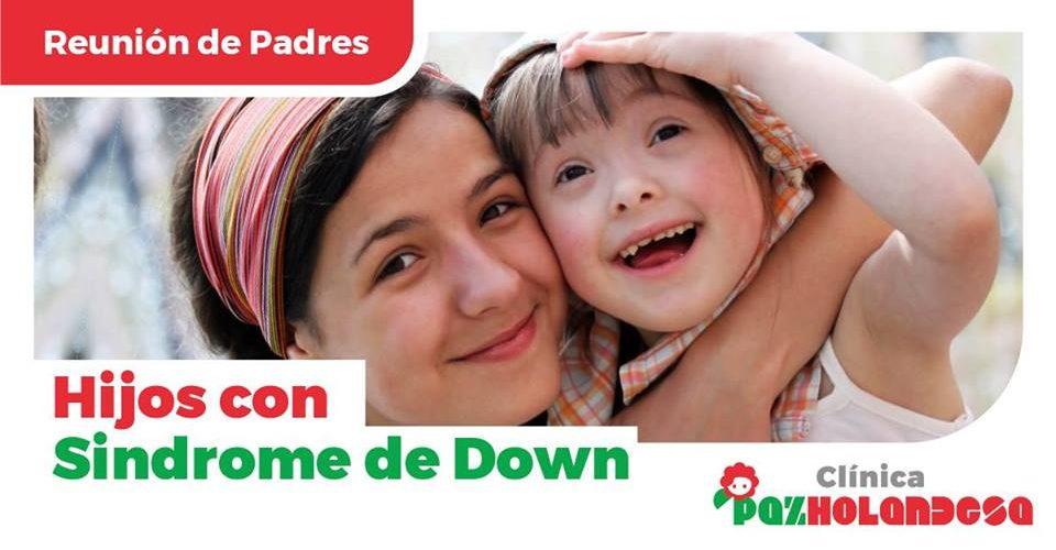 Reunión de Padres con Hijos Sindrome de Down  17 de nov a las 10:30 – 11:30