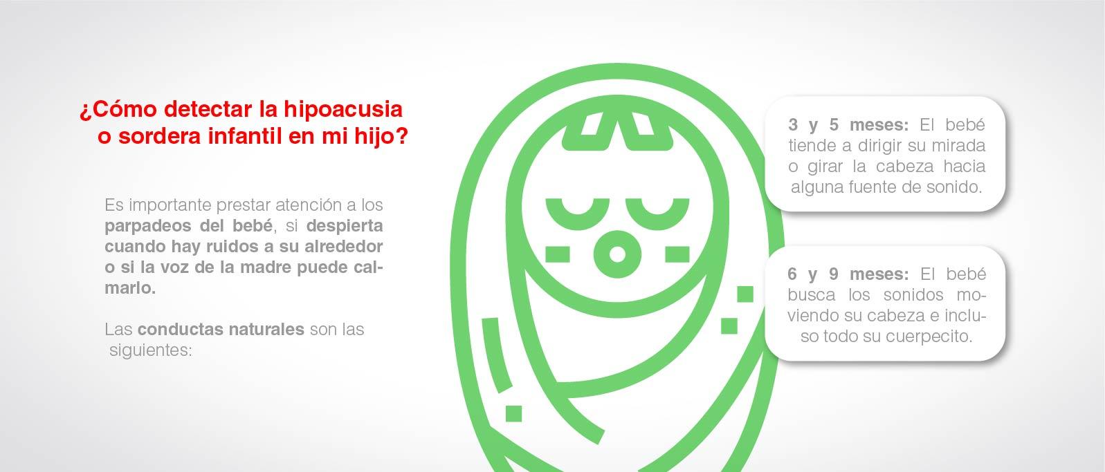 Cómo saber si mi hijo tiene hipoacusia o sordera infantil